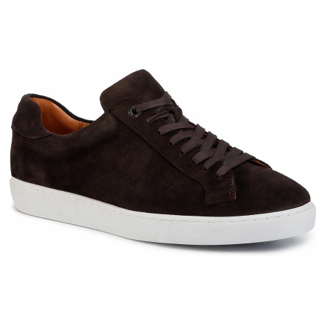 Sneakersy GINO ROSSI - MI07-A972-A801-03 Dark Brown