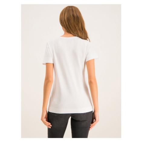 TOMMY HILFIGER T-Shirt Kelsey WW0WW25893 Biały Regular Fit