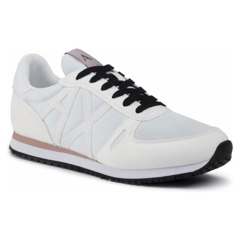 Sneakersy ARMANI EXCHANGE - XDX031 XV308 A222 Opt White/White