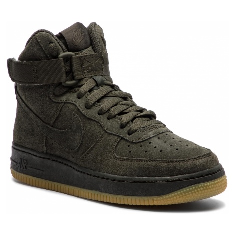 Buty NIKE - Air Force 1 High Lv8 (GS) 807617 300 Sequoia/Sequoia