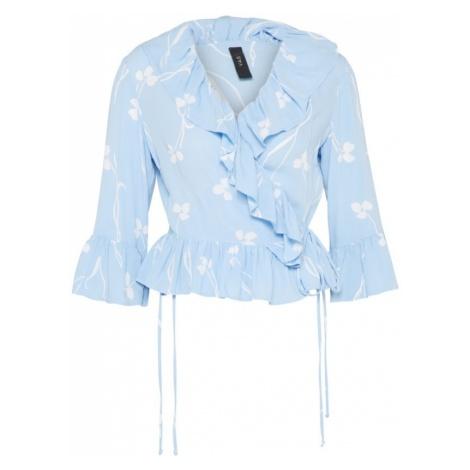 Y.A.S Bluzka jasnoniebieski / biały