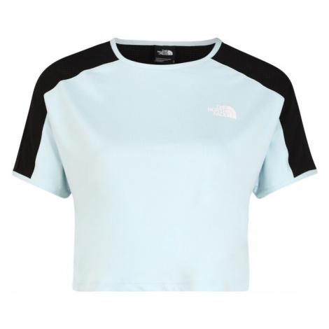 THE NORTH FACE Koszulka funkcyjna 'Active Trail' jasnoniebieski / czarny