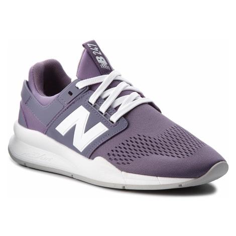 Sneakersy NEW BALANCE - WS247UJ Fioletowy
