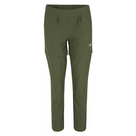 THE NORTH FACE Spodnie outdoor 'W INLUX CNVRTBL PT' oliwkowy