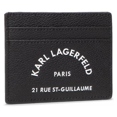 Etui na karty kredytowe KARL LAGERFELD - 205W3237 Black