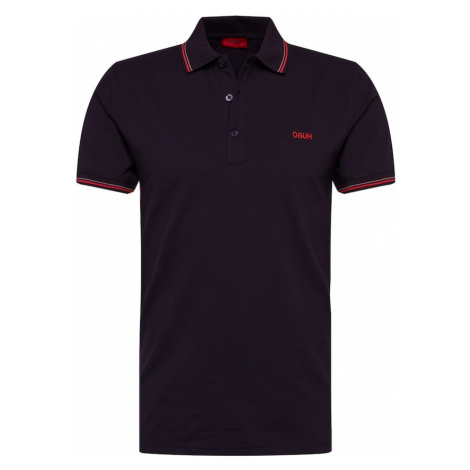HUGO Koszulka 'Dinoso' czarny / czerwony Hugo Boss