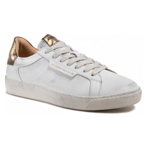 AllSaints Sneakersy Sheer B4ZW0352 Biały