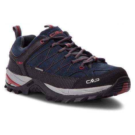 Trekkingi CMP - Rigel Low Trekking Shoes Wp 3Q13247 Asphalt/Syrah 62BN