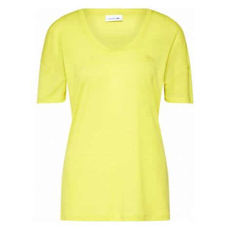 LACOSTE Koszulka 'TEE-SHIRT' żółty