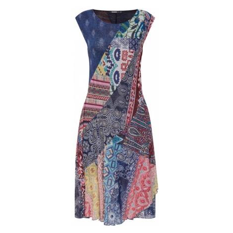 Desigual Sukienka 'Vest_Rasha' niebieski / mieszane kolory