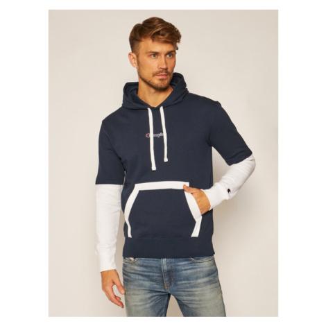 Champion Bluza Sweats 215283 Granatowy Comfort Fit