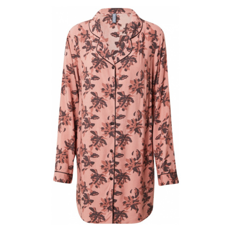 LingaDore Koszula nocna stary róż / brązowy