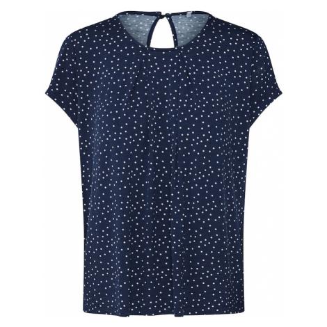 ONLY Koszulka 'NICE' niebieska noc / biały