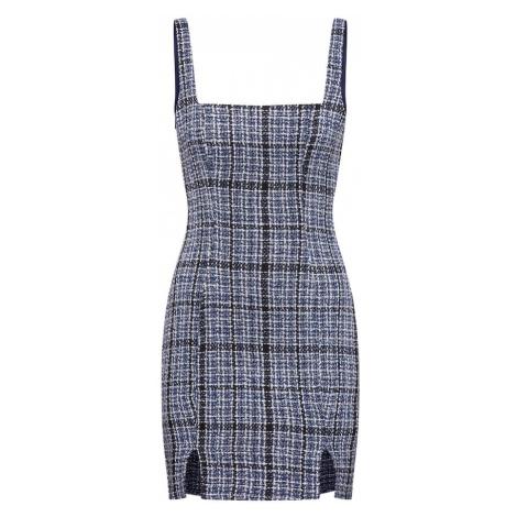 Missguided Sukienka 'Boucle Square Neck Cami Mini Dress' granatowy