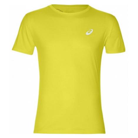 Asics SILVER SS TOP żółty XL - Koszulka do biegania męska