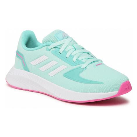 Adidas Buty Runfalcon 2.0 K FY9502 Zielony