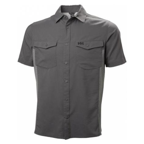 Helly Hansen koszula męska Seidr Hybrid Shirt, Charcoal