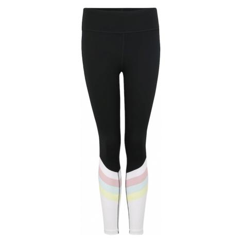 GAP Spodnie sportowe czarny / biały