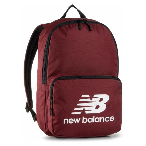 Plecak NEW BALANCE - NTBCBPK8BG Bordowy