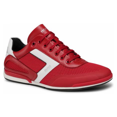 Sneakersy BOSS - Saturn 50445677 10230782 01 Medium Red 610 Hugo Boss