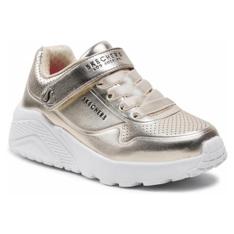 Sneakersy SKECHERS - Chrome Steps 310453L/GLD Gold