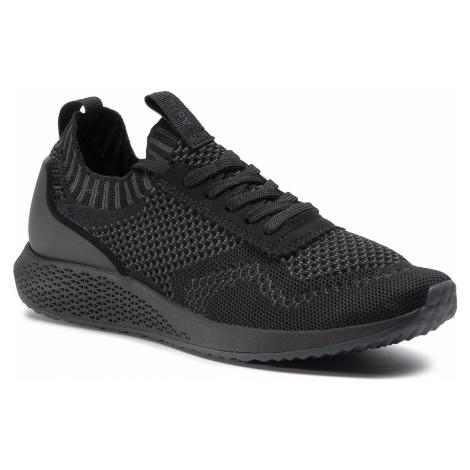 Sneakersy TAMARIS - 1-23714-25 Black/Dk. Grey 075