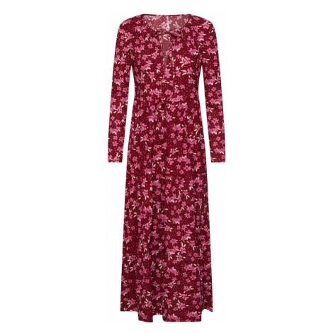 Free People Sukienka koszulowa 'TIERS OF JOY' czerwony