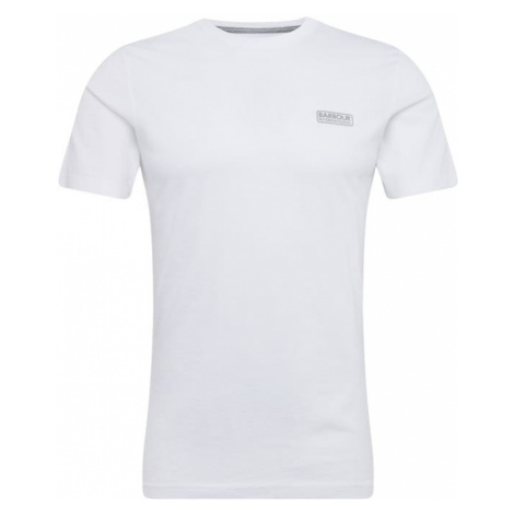 Barbour International Koszulka 'International Small Logo Tee' biały