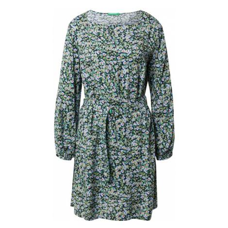 UNITED COLORS OF BENETTON Sukienka zielony / mieszane kolory