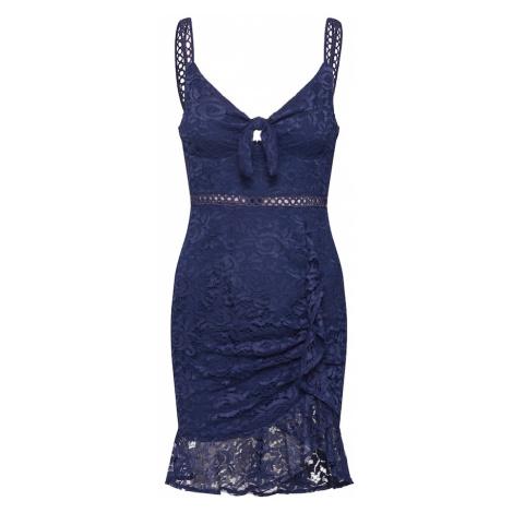Love Triangle Suknia wieczorowa 'Yass Queen Dress' granatowy