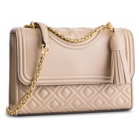 Torebka TORY BURCH - Fleming Small Convertible Shoulder Bag 43834 Light Taupe 268