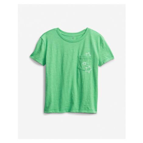 GAP Koszulka dziecięce Zielony