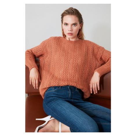Bluza z dzianiny trendyol rose dry knitted knit