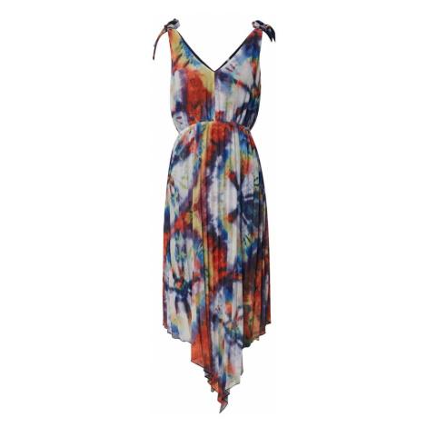 Pepe Jeans Sukienka 'Johana' biały / niebieski / czerwony / żółty / fioletowy