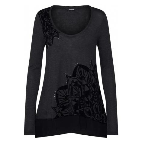 Desigual Koszulka czarny