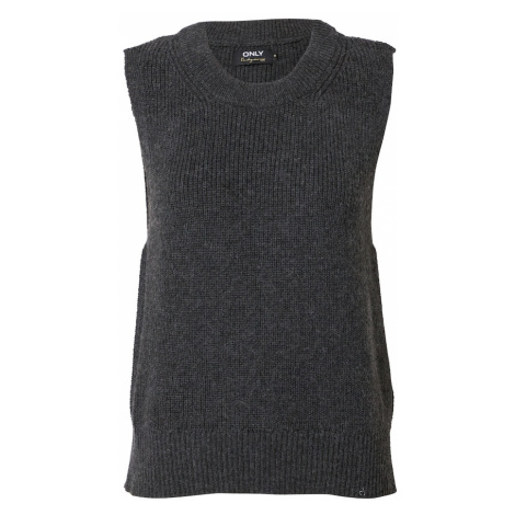 ONLY Sweter 'Paris' ciemnoszary
