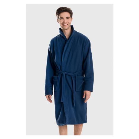 Niebieskie męskie piżamy i szlafroki