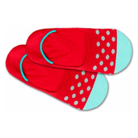 DillySocks Skarpetki stopki 'Hidden Blue Balls' niebieski / czerwony