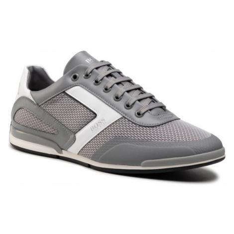 Boss Sneakersy Saturn 50445677 10230782 01 Szary Hugo Boss