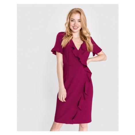 French Connection Alianor Sukienka Różowy Fioletowy