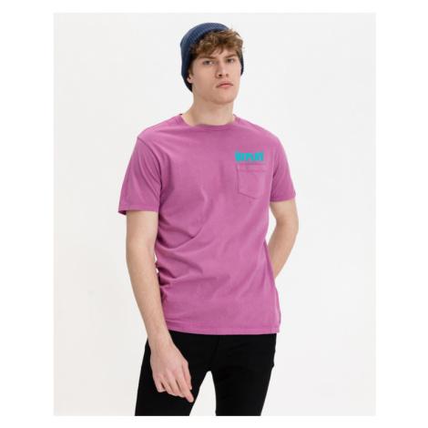 Replay Koszulka Fioletowy
