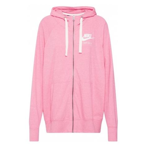 Nike Sportswear Bluza rozpinana różowy