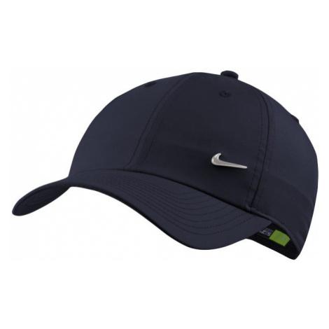 Regulowana czapka Nike Metal Swoosh H86 - Niebieski