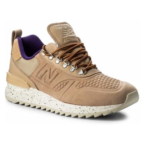 Sneakersy NEW BALANCE - TBATRA Beżowy