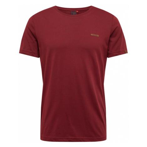 Ragwear Koszulka 'NEDIE' czerwone wino
