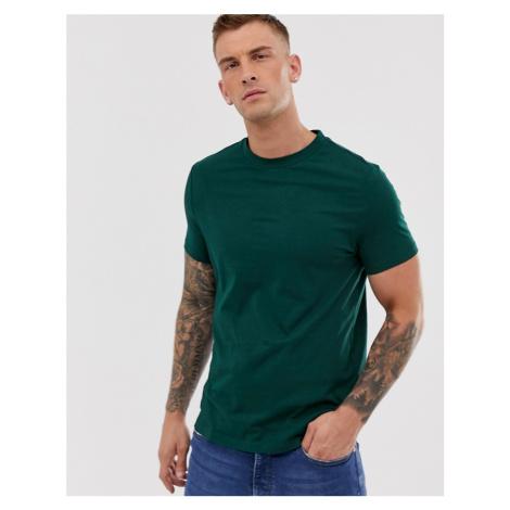 ASOS DESIGN organic t-shirt with crew neck in khaki