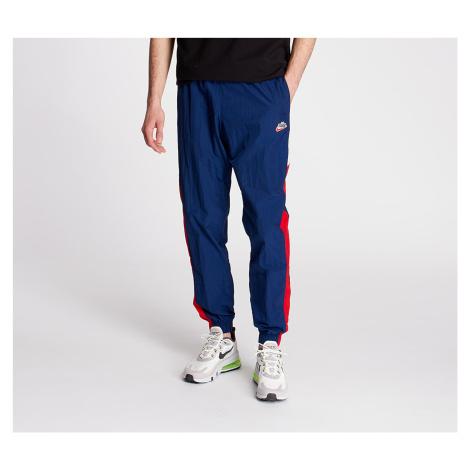 Nike Sportswear HE Wr Woven Signature Pants Blue Void/ University Red/ Summit White