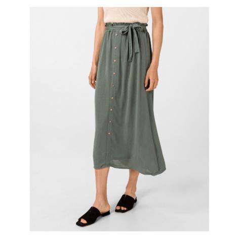 Vero Moda Naomi Paperbag Spódnica Zielony
