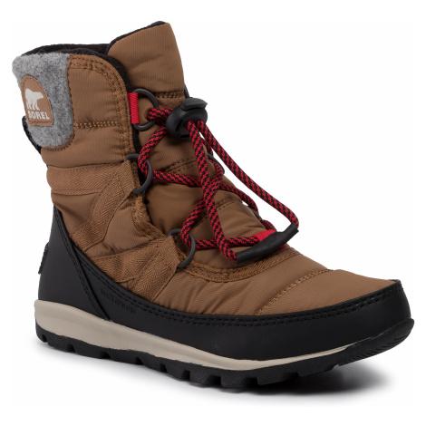 Śniegowce SOREL - Youth Whitney Short Lace NY3493 Elk 286