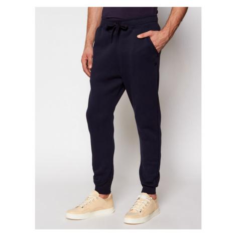 G-Star Raw Spodnie dresowe Premium Core D15653-C235-6067 Granatowy Slim Fit